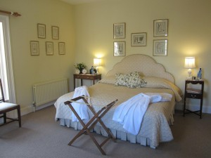 Curtis Room, main ensuite guest room, Ballymote House, Country House B&B, County Down