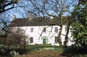 House through trees – Spring at Ballymote House, Country House B&B, County Down