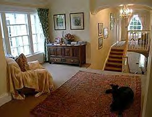 Upstairs landing, Country House B&B, Strangford Lough, Mourne Mountains