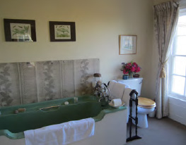 Bathroom Curtis Room, main ensuite guest room, Ballymote House, Country House B&B, County Down