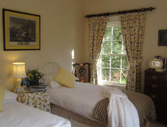 Trellis room, Ballymote House, Country House B&B, County Down