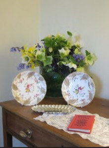 A corner of Curtis Room, main guest room, Ballymote House, Country House B&B, County Down