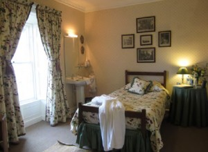 Hogarth room, a single, Ballymote House, Country House B&B, County Down