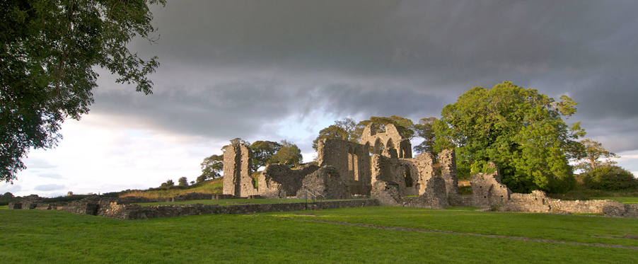 Historical Places Page Inch Abbey, Downpatrick