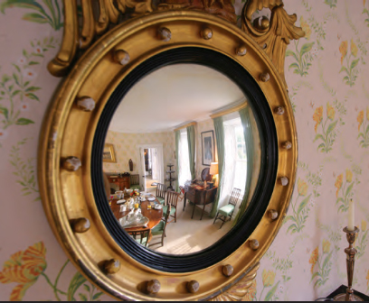 Mirror in Dinning room, Ballymote House, Country House B&B, County Down