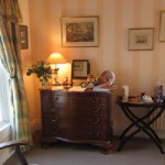 A corner of Archie's room, single ensuite room, Ballymote House, Country House B&B, County Down