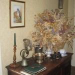 Corner in Ballymote House back hall, Ballymote House, Country House B&B, County Down